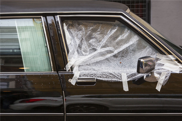 Using Plastic To Cover Your Damaged Windows Is Highly