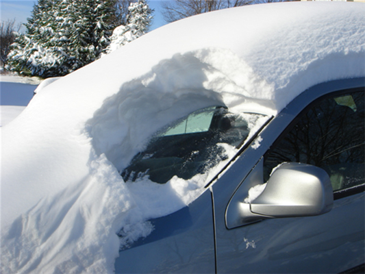 Winter Snow Removal Can Chip And Crack Your Windshield