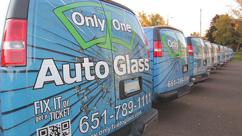 Only 1 Auto Glass Trucks